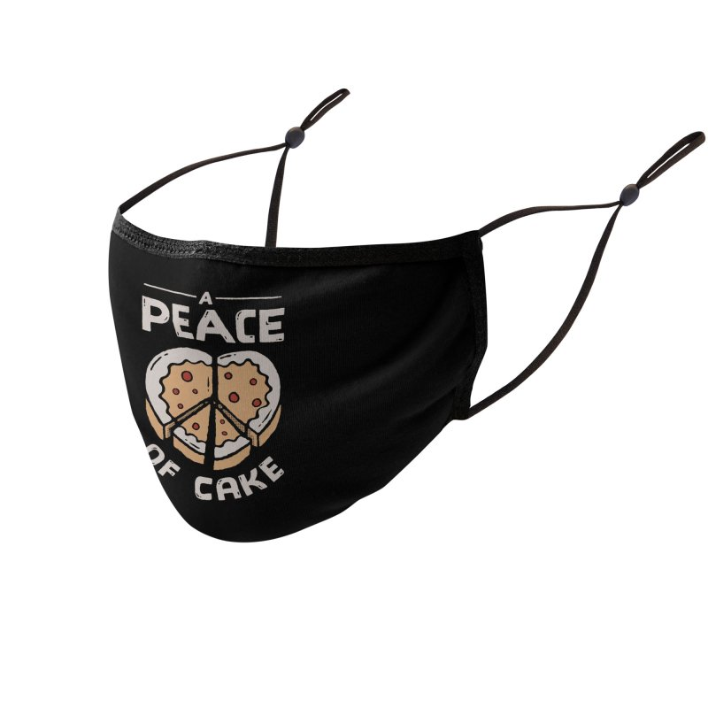 A Peace of Cake Accessories Face Mask by Tatak Waskitho