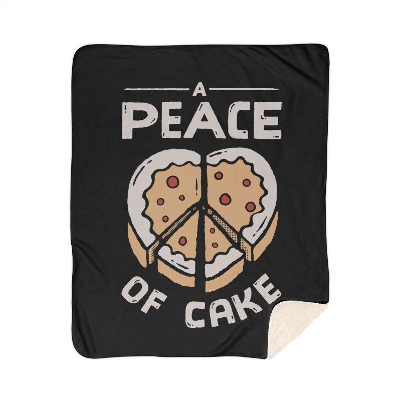 A Peace of Cake Home Blanket by Tatak Waskitho