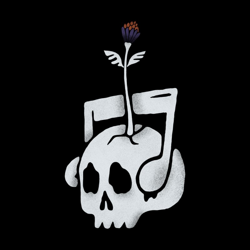 Dead Alive Men's Zip-Up Hoody by Tatak Waskitho