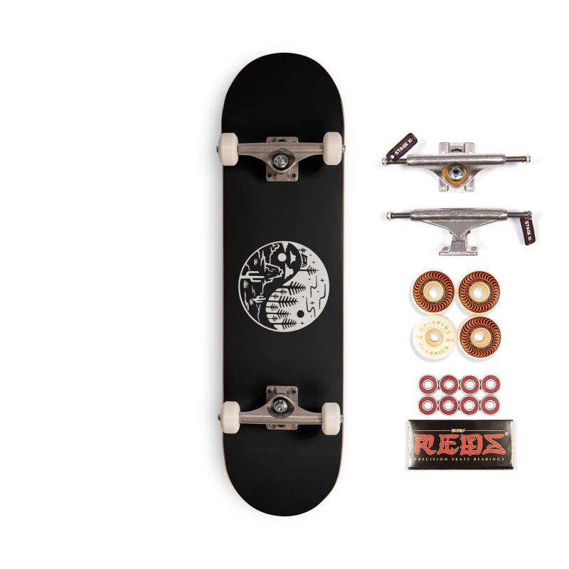 Yin Yang Accessories Skateboard by Tatak Waskitho