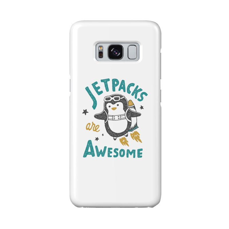 Jetpacks Are Awesome Accessories Phone Case by Tatak Waskitho