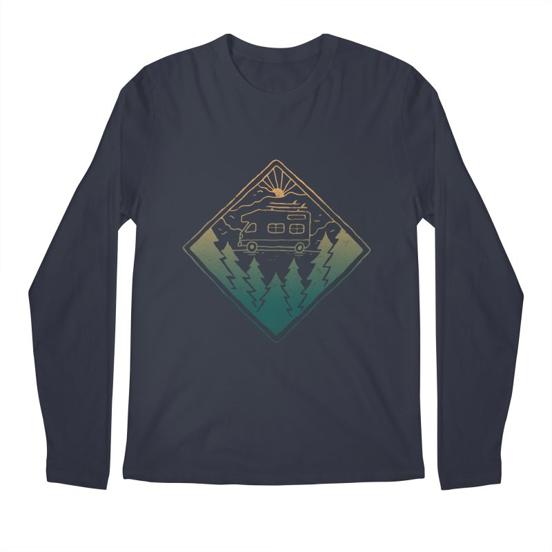Advanture Men's Longsleeve T-Shirt by Tatak Waskitho