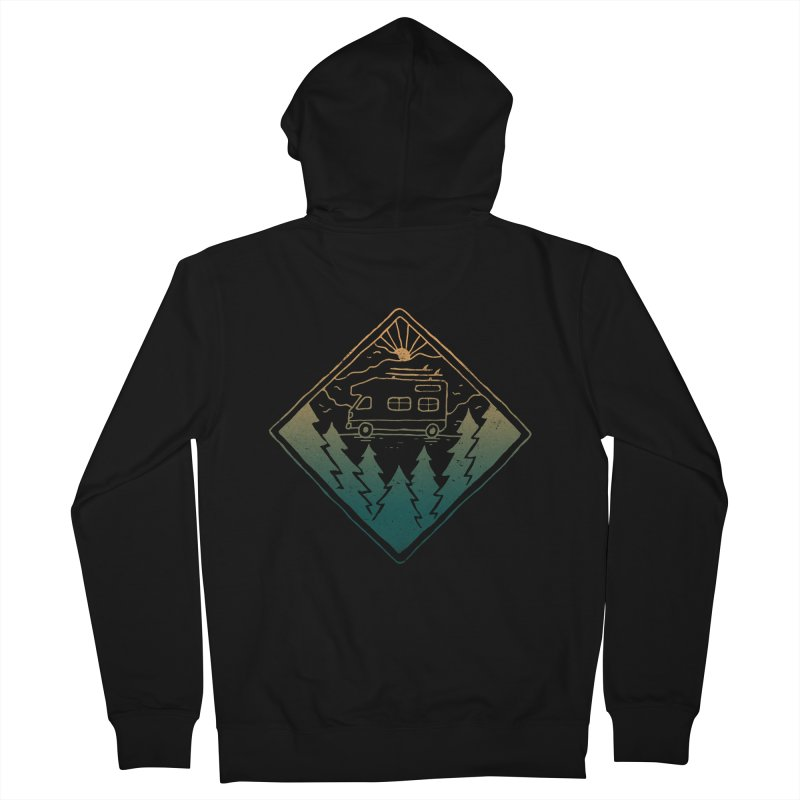 Advanture Men's Zip-Up Hoody by skitchism's Artist Shop
