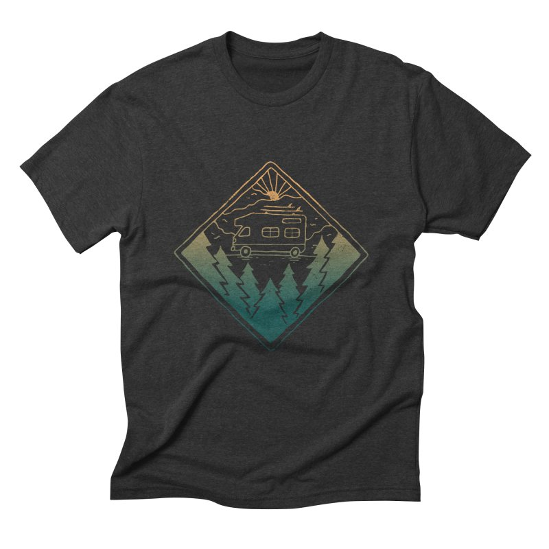Advanture Men's Triblend T-Shirt by skitchism's Artist Shop