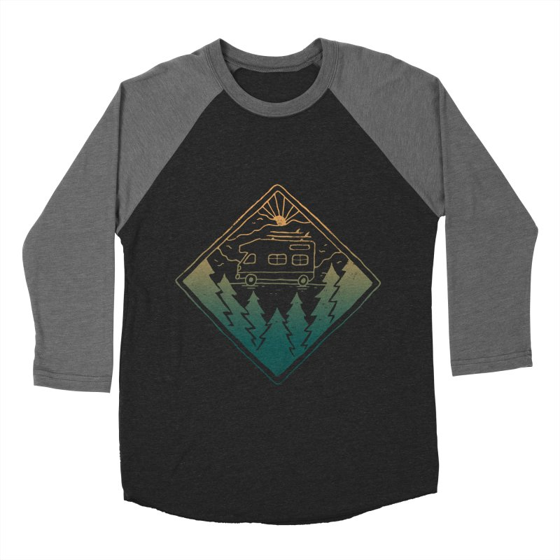 Advanture Women's Baseball Triblend T-Shirt by skitchism's Artist Shop
