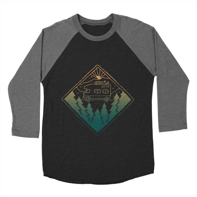 Advanture Men's Baseball Triblend T-Shirt by skitchism's Artist Shop