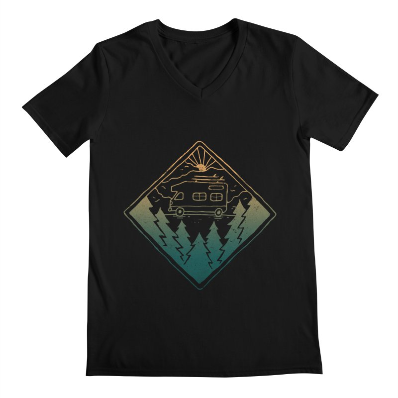 Advanture Men's V-Neck by skitchism's Artist Shop