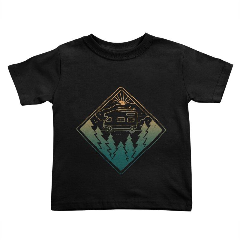 Advanture Kids Toddler T-Shirt by skitchism's Artist Shop