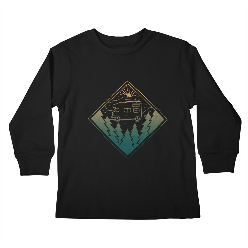 Advanture Kids Longsleeve T-Shirt by skitchism's Artist Shop