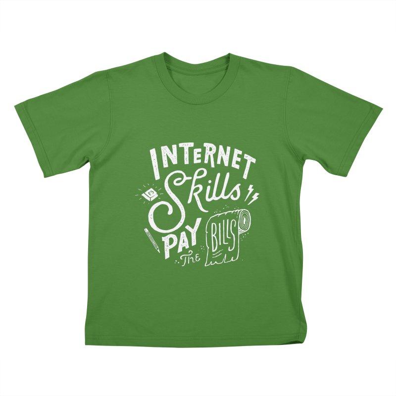 Pay The Bills Kids T-shirt by skitchism's Artist Shop