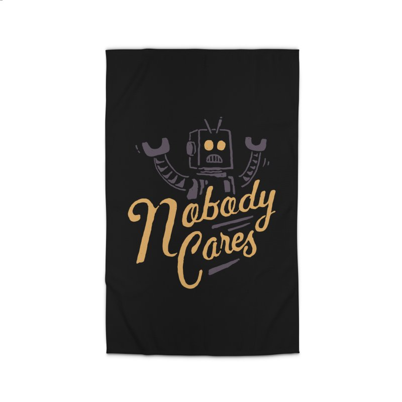 Nobody Cares Home Rug by skitchism's Artist Shop