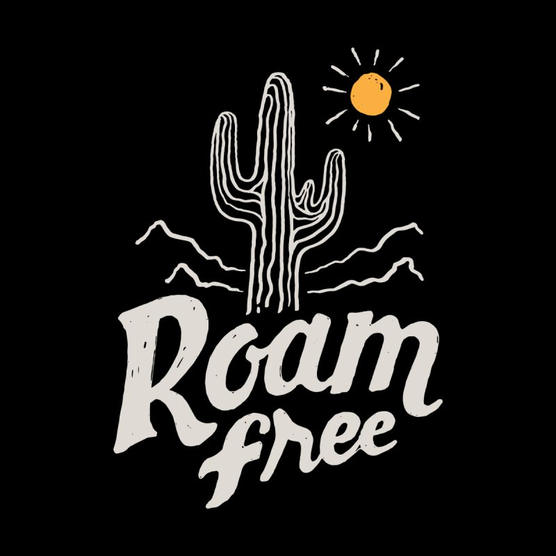 Roam Free Accessories Bag by skitchism's Artist Shop