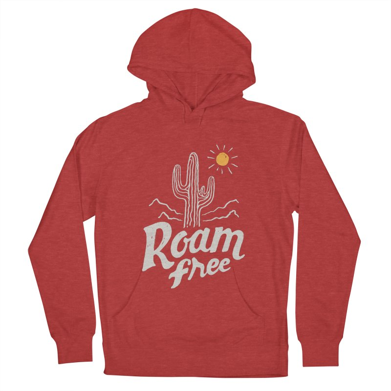 Roam Free Men's Pullover Hoody by skitchism's Artist Shop
