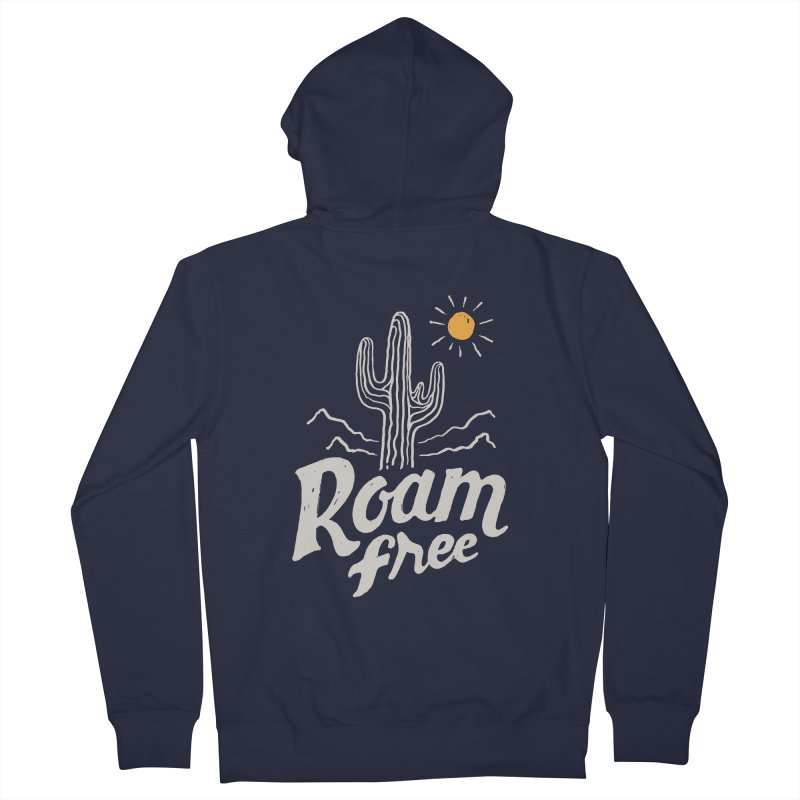 Roam Free Women's Zip-Up Hoody by skitchism's Artist Shop