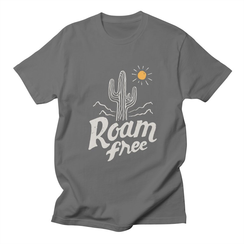 Roam Free Men's T-Shirt by skitchism's Artist Shop