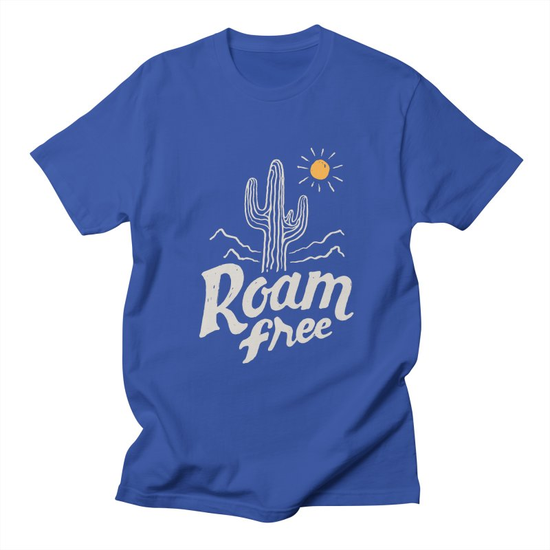 Roam Free Women's Unisex T-Shirt by skitchism's Artist Shop