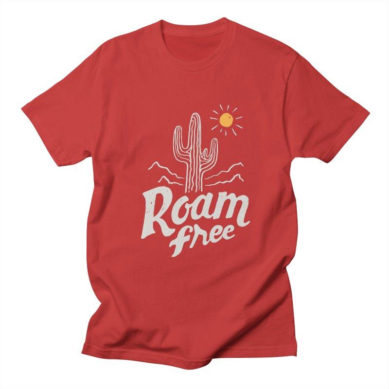 Roam Free Men's T-Shirt by skitchism's Artist Shop