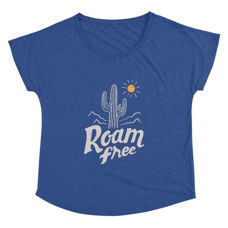 Roam Free Women's Dolman by skitchism's Artist Shop