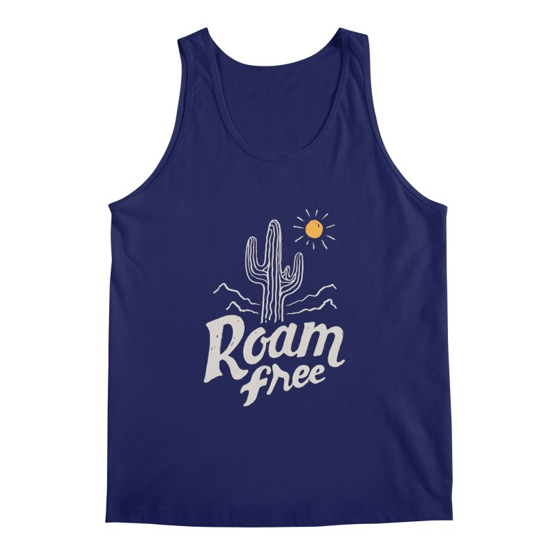 Roam Free Men's Tank by skitchism's Artist Shop