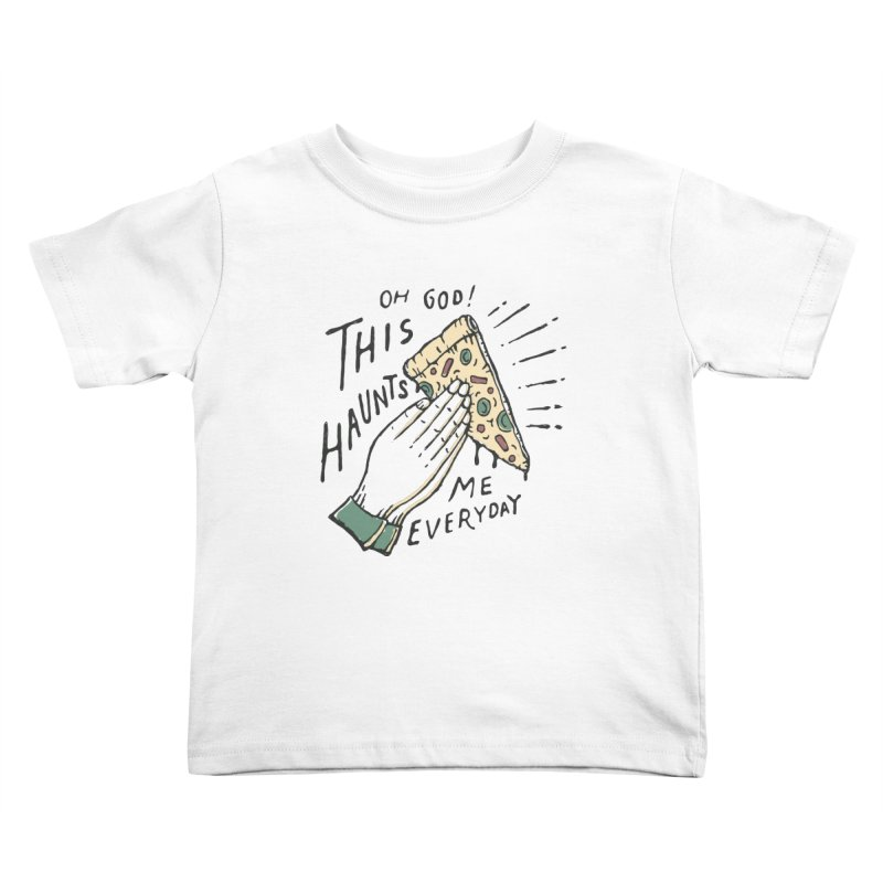 Haunts Me Kids Toddler T-Shirt by skitchism's Artist Shop