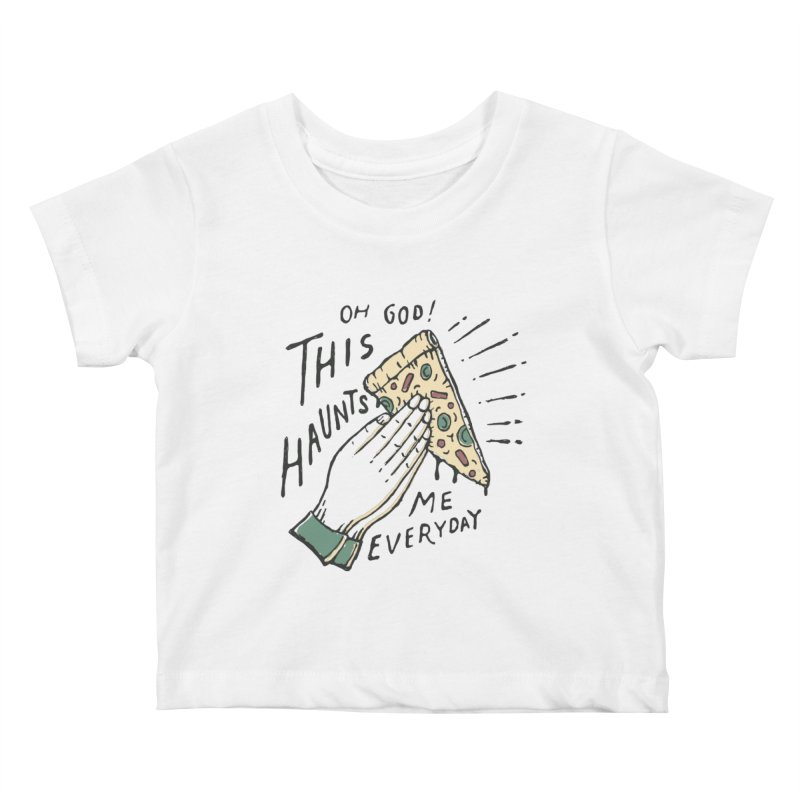 Haunts Me Kids Baby T-Shirt by skitchism's Artist Shop