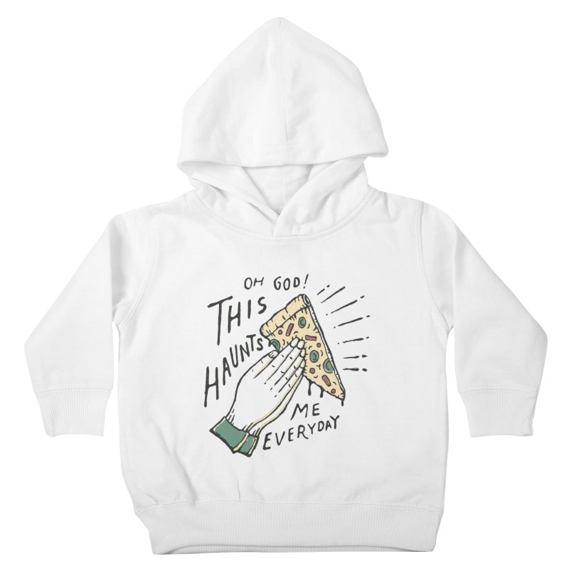 Haunts Me Kids Toddler Pullover Hoody by skitchism's Artist Shop