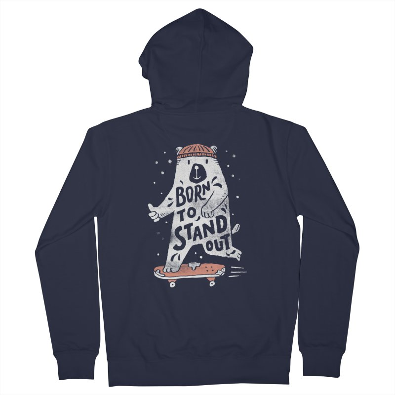 Stand Out Men's Zip-Up Hoody by Tatak Waskitho