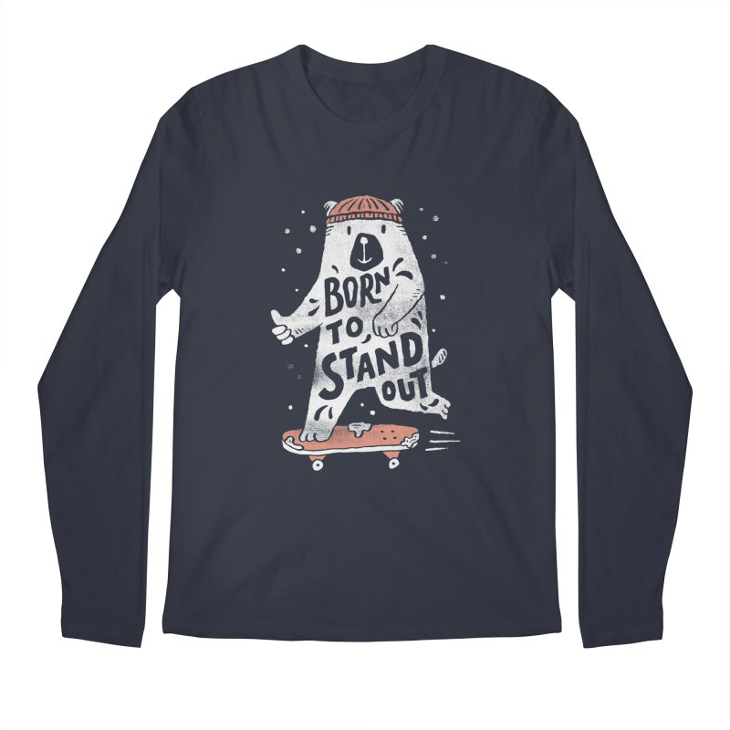 Stand Out Men's Longsleeve T-Shirt by Tatak Waskitho
