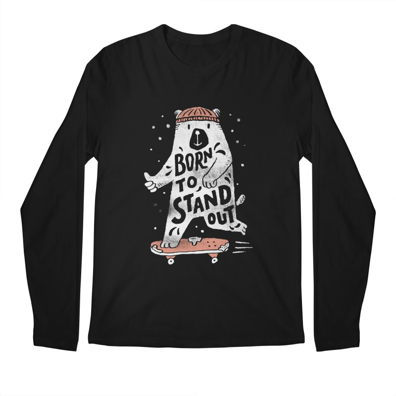 Stand Out Men's Longsleeve T-Shirt by skitchism's Artist Shop