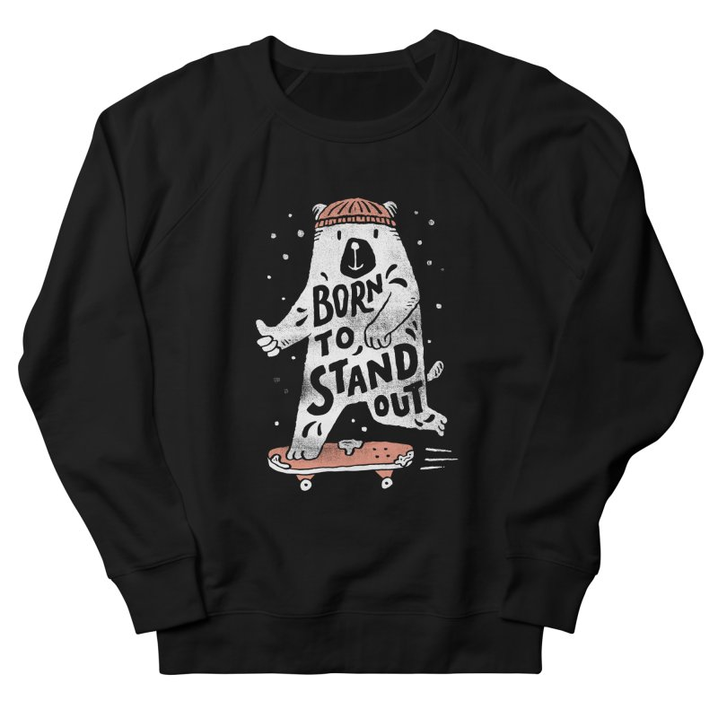 Stand Out Men's Sweatshirt by skitchism's Artist Shop