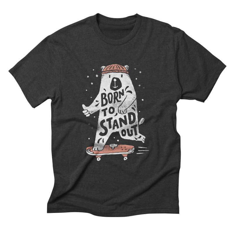 Stand Out Men's Triblend T-Shirt by skitchism's Artist Shop