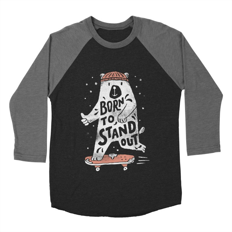 Stand Out Men's Baseball Triblend T-Shirt by skitchism's Artist Shop