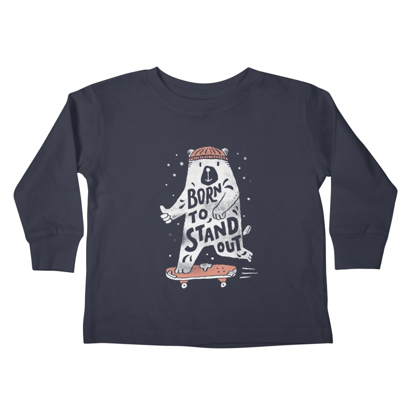 Stand Out Kids Toddler Longsleeve T-Shirt by skitchism's Artist Shop