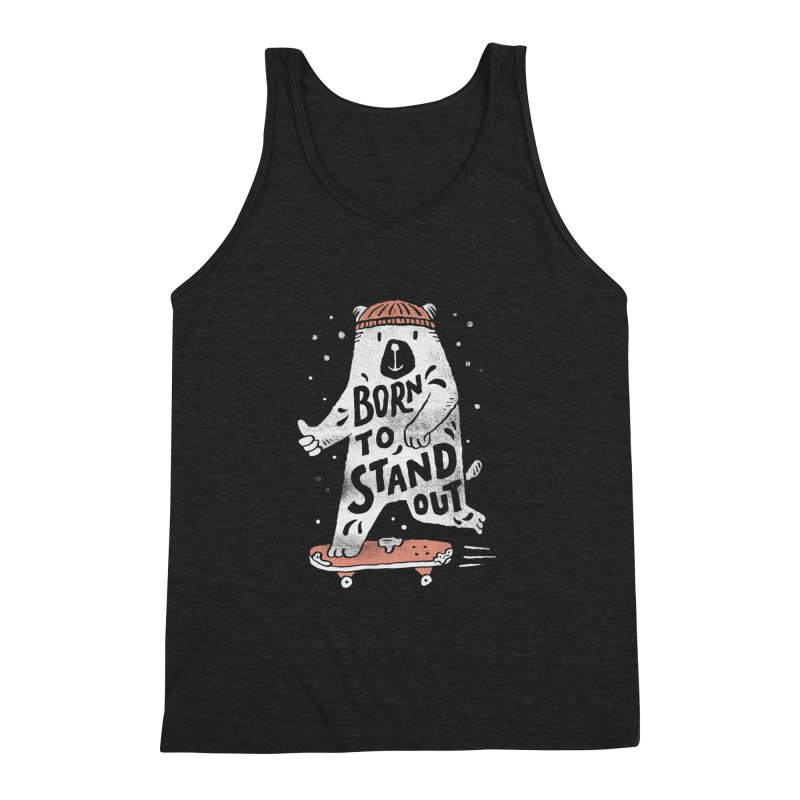 Stand Out Men's Triblend Tank by skitchism's Artist Shop
