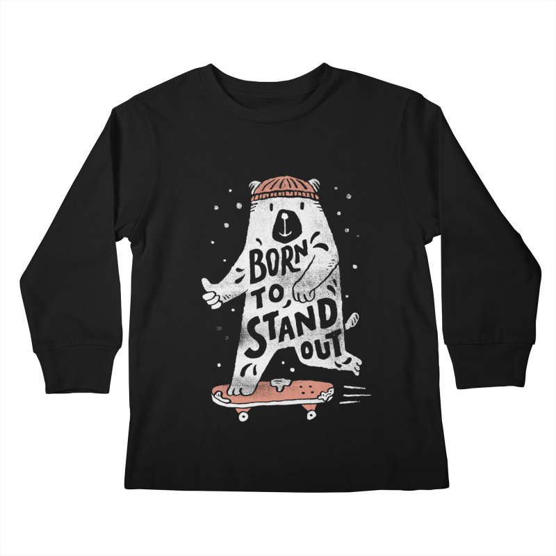 Stand Out Kids Longsleeve T-Shirt by skitchism's Artist Shop