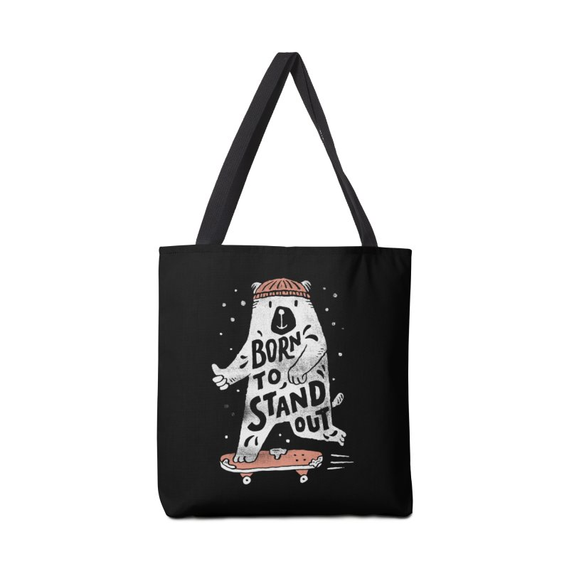 Stand Out Accessories Bag by skitchism's Artist Shop