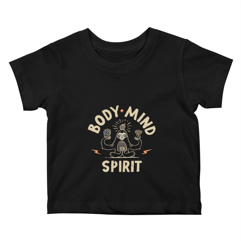 Yoga Class Kids Baby T-Shirt by skitchism's Artist Shop