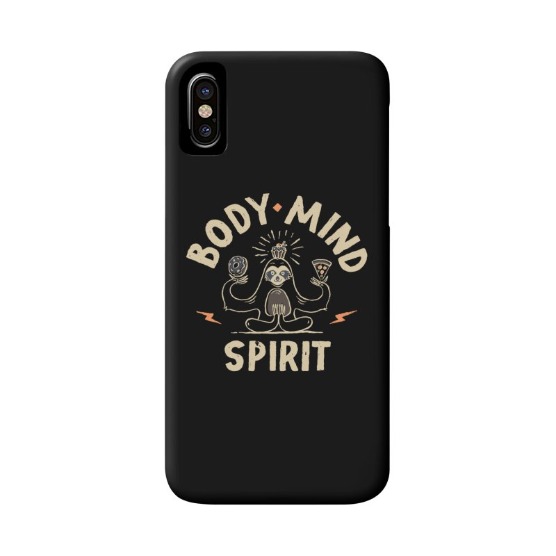 Yoga Class Accessories Phone Case by Tatak Waskitho