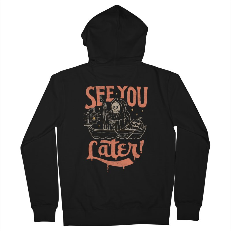 See You Men's Zip-Up Hoody by skitchism's Artist Shop