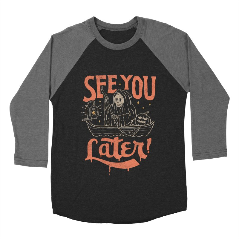 See You Men's Baseball Triblend T-Shirt by skitchism's Artist Shop