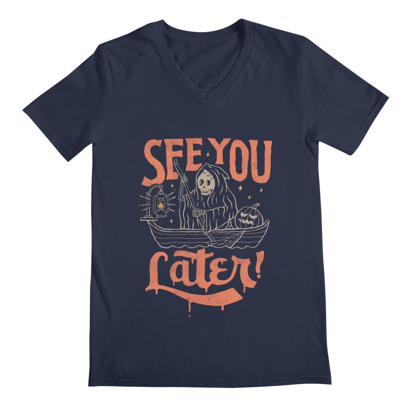 See You Men's V-Neck by skitchism's Artist Shop