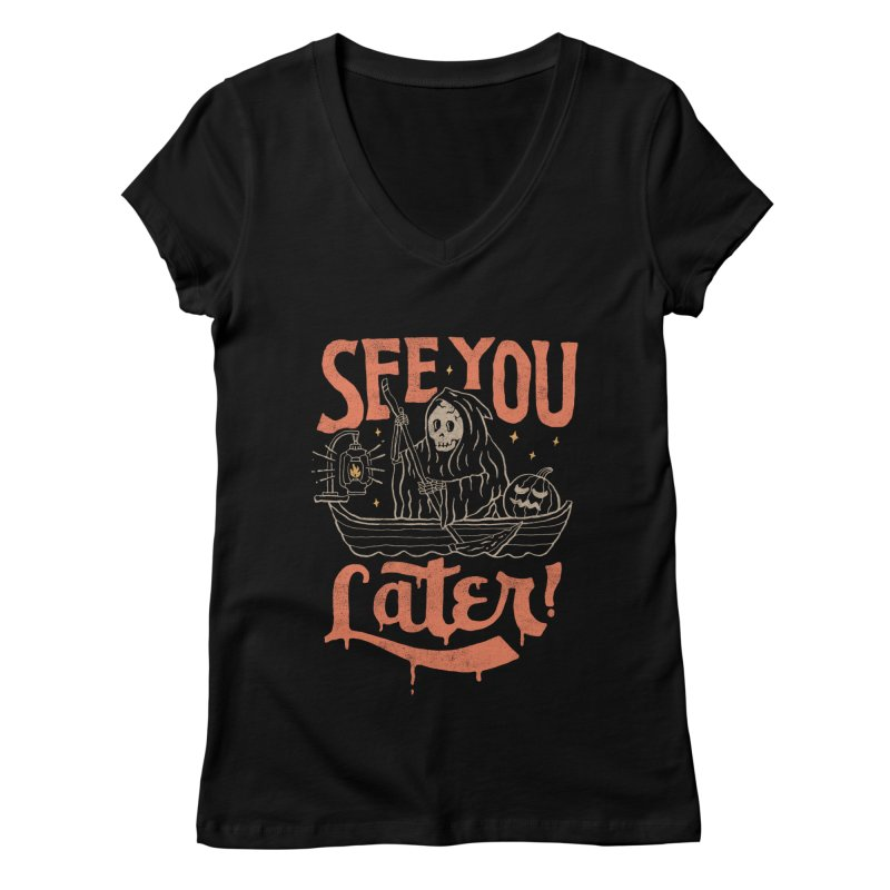 See You Women's V-Neck by skitchism's Artist Shop