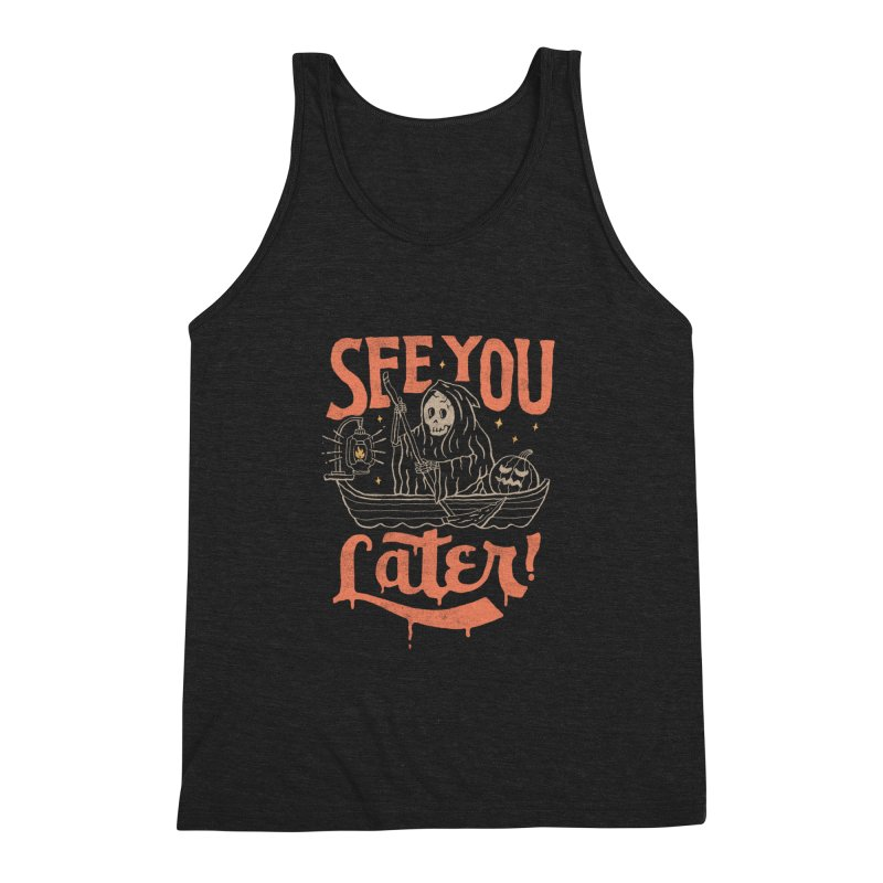 See You Men's Triblend Tank by skitchism's Artist Shop