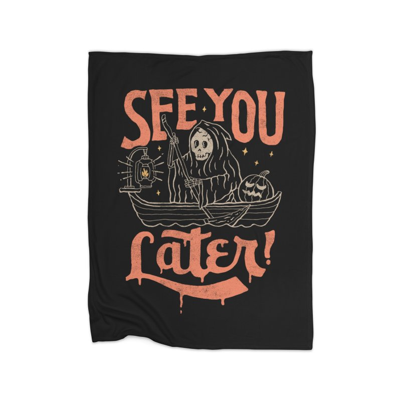 See You Home Fleece Blanket by skitchism's Artist Shop