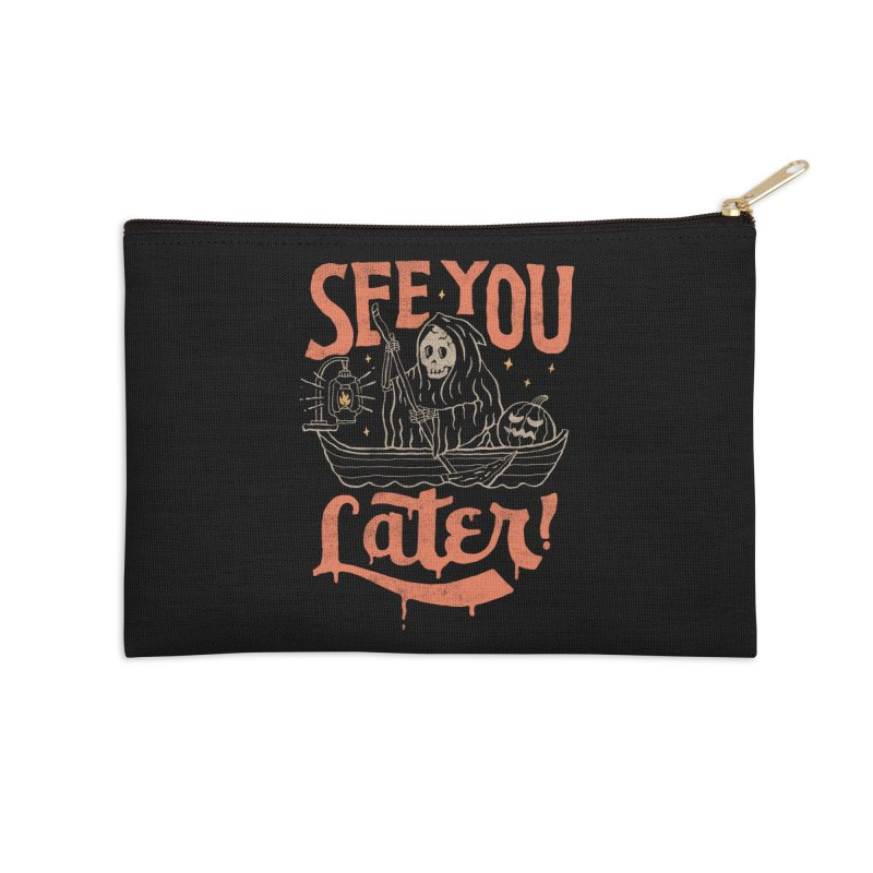 See You Accessories Zip Pouch by skitchism's Artist Shop