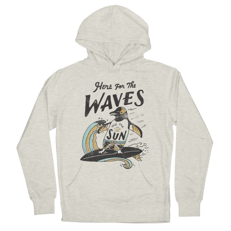 Here For Men's French Terry Pullover Hoody by skitchism's Artist Shop