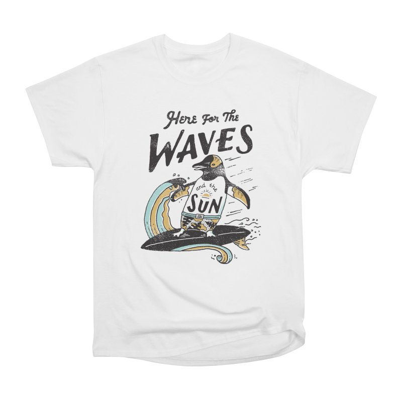 Here For Men's Heavyweight T-Shirt by skitchism's Artist Shop