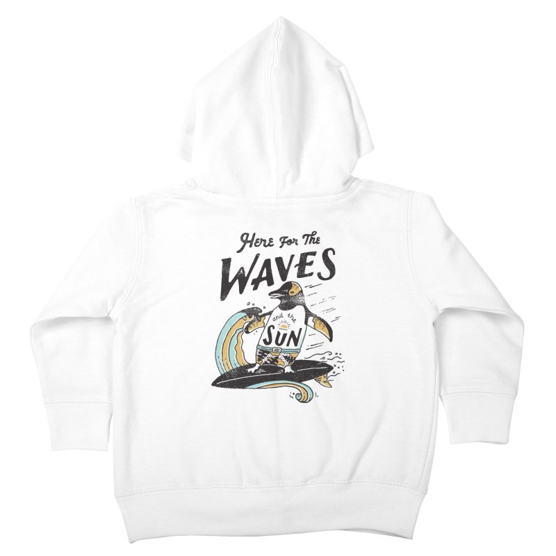 Here For Kids Toddler Zip-Up Hoody by skitchism's Artist Shop
