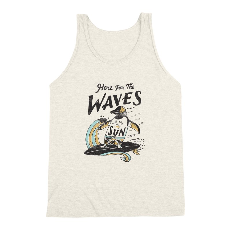Here For Men's Triblend Tank by skitchism's Artist Shop
