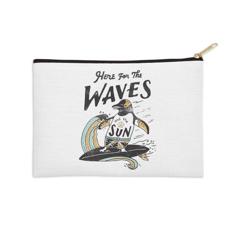 Here For Accessories Zip Pouch by skitchism's Artist Shop